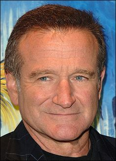 Robin Williams.  This guy has been making me laugh since I was a little girl watching Mork & Mindy.