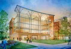 Architectural Rendering in Minneapolis by Les Chylinski