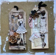 prima paperdollvstamps | Julie, the creator of our new doll stamps, really shows off their ...