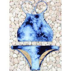 halter style bikini