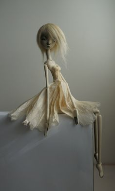 S silences Shizumi ...ooak art doll by burymebaubles on Etsy