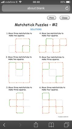 Maths, Four Square, Chart, How To Make