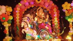 Ganpati Decoration Ideas at Home with Theme 2016, Ganesh Chaturthi Decor...