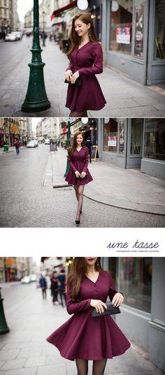 Belted Shirtwaist Dress