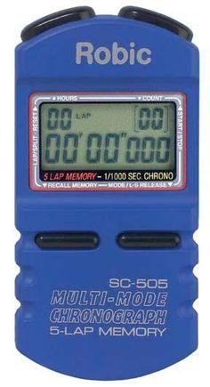Robic SC505W 12 Memory Timer - Blue