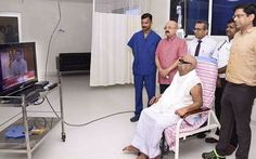 Chennai Ungal Kaiyil: Mr.Karunanithi, DMK president will be discharged from hospital and will be returning home by today. #CurrentUpdates www.chennaiungalkaiyil.com.  Chennai Live News, Live Chennai.