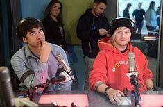 Michael and Calum at elvisduranshow