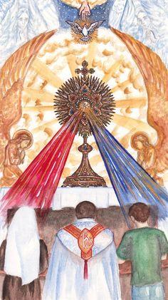 Ecce Panis Angelorum by Theophilia.deviantart.com on @deviantART
