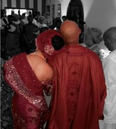 "They are both a perfect match right ? The couple's introduction ceremony was held in Lagos few days back. See More Photos below:           ALSO SEE: Photos - President of the ""Yoruba Demon"" Banky W and His Crew During His Introduction   #Adesua Etomi #Banky W #Gossip"
