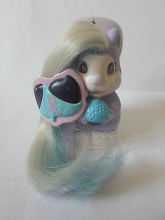 #Vintage 1980s #tonka keypers toy baby #squirrel scamper with brush and hair clip,  View more on the LINK: http://www.zeppy.io/product/gb/2/301797459735/