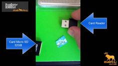 GearBest - Micro sd 32GB + card reader [Review] Card Reader, Sd, Usb Flash Drive, Youtube, Cards, Map, Playing Cards, Usb Drive, Maps