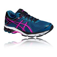 #Asics gt-1000 4 #womens pink blue support road running sports shoes #trainers,  View more on the LINK: http://www.zeppy.io/product/gb/2/291507167282/