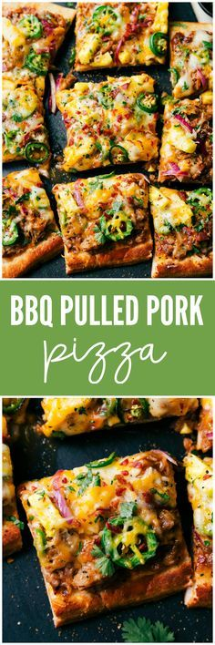 BBQ Pulled Pork Pizza is so quick and easy to make and perfect for busy nights!