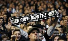 Newcastle brought almost 5,000 fans with them to St Andrew's for the FA Cup third round tie