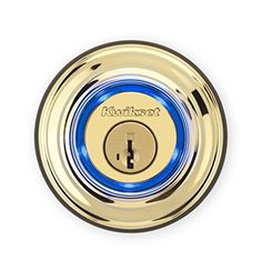 Kwikset Kevo 1st Gen Smart Lock with Keyless Bluetooth Touch to Open Convenience Certified Refurbished in Polished Brass *** Click on the image for additional details.Note:It is affiliate link to Amazon.