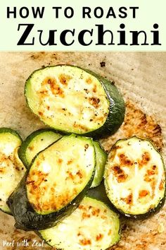 Meal prep essential recipe oven roasted zucchini Easy to make and baked to perfection Perfect addition to your healthy lunch budda bowl or a side dish for a weeknight din. Roasted Zucchini Recipes, Oven Roasted Zucchini, Zucchini In The Oven, Bake Zucchini, How To Cook Zucchini, Easy Zuchinni Recipes, Oven Roasted Vegetables, Cooking Zucchini, Recipe Zucchini