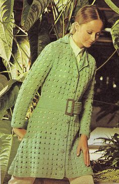 "Green car coat. ""Good plan,"" thought Mary, ""wear it only in the car and maybe no one will see it."""