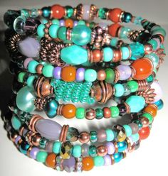 This bracelet is full of goodies and is a great by ASExpressions, $25.00