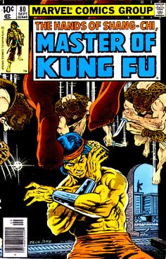 Master Of Kung Fu 80, September 1979, cover by Mike Zeck and Gene Day