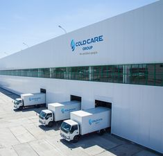 COLD CARE delivers customized solutions for the cold storage industry and provides refrigerated logistics services as the best in class technology. Warehouse Plan, Warehouse Logistics, Warehouse Design, Industrial Park, Industrial Office, Factory Architecture, Amazing Architecture, Shed Design, Facade Design