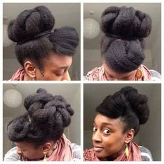 5 Chic Protective Styles That Can Be Worn On Any Occasion Do you get tired of changing up your look depending on where you are going? Here are five protective styles that you can wear for almost any occasion: Vintage Tuck If you are a fan of Geri's bl… African Threading, Hair Threading, Haircuts For Fine Hair, Easy Hairstyles For Long Hair, African Hairstyles, Afro Hairstyles, Protective Hairstyles, Hairdos, Natural Hair Updo