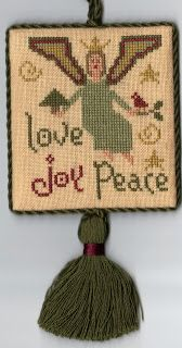 Midsummer Night Musings: Just Cross Stitch ornament issue 2007