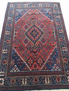 Maison de ventes aux enchères en ligne Catawiki: Tapis persan Joseghan environ 1970, 205 X 138cm
