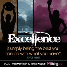 Excellence, joyce meyer quote