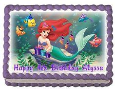 The Little Mermaid 3 Edible Frosting Sheet Cake Topper - 1/4 Sheet Cake Topper Designs http://www.amazon.com/dp/B00J7AOF0A/ref=cm_sw_r_pi_dp_e7DOvb1YV8D2B