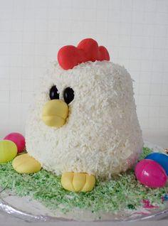 Chicken cake 2nd birthday.