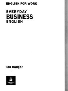 Everyday business-english by salima salima via slideshare