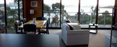 Beach House Accommodation at Dennes Point Bruny Island, Holiday Accommodation, Tasmania, Beach House, Lounge, Room, Furniture, Home Decor, Beach Homes