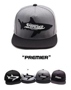 Francisco california shark custom snapback hat Hiphop flat baseball cap  #Hoonyshop #BaseballCap