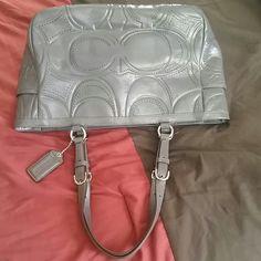 Autentic Coach  bag New Beautyfull  Gray  coach Coach Bags Shoulder Bags