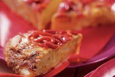 Tortilla met gegrilde paprika