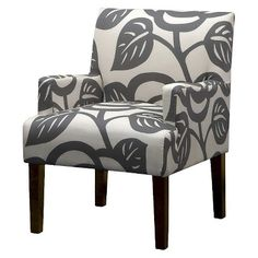 Seedling by Thomas Paul Arm Chair - Dec Rose Gray