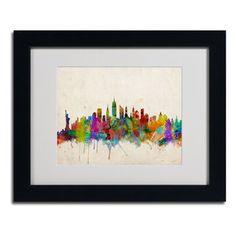 @Overstock - Michael Tompsett 'New York Skyline' Framed Mattted Art - Artist: Michael TompsettTitle: New York SkylineProduct type: Framed Giclee Print    http://www.overstock.com/Home-Garden/Michael-Tompsett-New-York-Skyline-Framed-Mattted-Art/8006647/product.html?CID=214117  $54.99