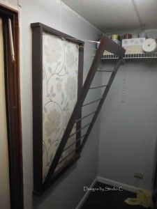 Free Plans to Build a Beadboard Drying Rack 2