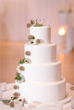 Gorgeous simple cake.