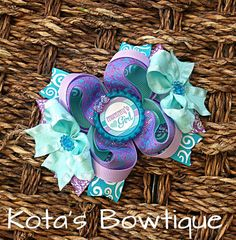Mommy's Girl Boutique Bow by KotasBowtique on Etsy, $7.49