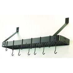 x 9 x 12 oiled bronze bookshelf rack wgrid 12 hooks