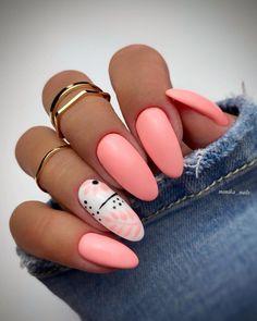 Pink Acrylic Nails, Pastel Nails, Acrylic Nail Designs, Pink Nails, Chic Nails, Stylish Nails, Trendy Nails, Swag Nails, Romantic Nails