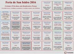 Bullfighting tickets. Tickets for bullfights in Madrid and Sevilla: San Isidro Festival 2016 Schedule