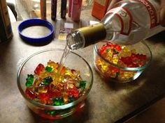 The Hoy of Cooking: Rummy Bears- Vodka vs spiced rum vs coconut rum