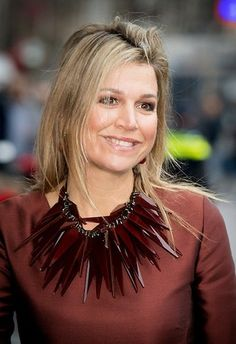 Queen Maxima attend the opening a conference in Amsterdam
