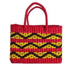 Bolsa de palha Punta - vermelha - shoplixmix