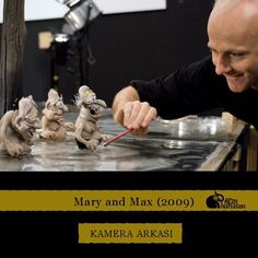 making ''Mary and Max'' Sculpting Tutorials, Art Tutorials, Mary And Max, Clay Animation, Fantastic Mr Fox, Shaun The Sheep, Motion Capture, Art Story, Stop Motion
