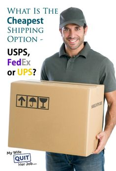 """""""What Is The Cheapest Shipping Option – USPS, FedEx Or UPS?  It has been a while since I've done a competitive analysis of the various shipping carriers so I thought I'd do a quick update. With the United States Postal Service jacking up their rates every 4-6 months, what used to be the most economical shipping method is now priced inline or even more expensive than some of the more reliable carriers like UPS or FedEx."""""""