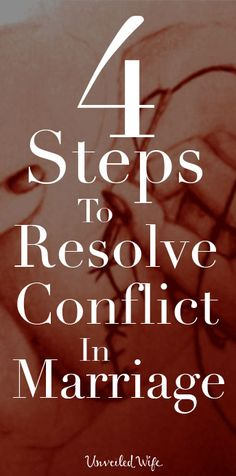 4 Steps To Resolve Conflict In Marriage --- Going to church has been a vital part of the growth I have experienced in my character, in my relationship with God, and in my marriage. Over the last four years my husband and I have been attending … Godly Marriage, Save My Marriage, Strong Marriage, Marriage And Family, Marriage Relationship, Happy Marriage, Marriage Advice, Successful Marriage, Relationship Issues