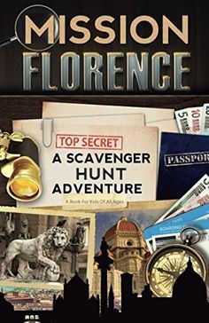 Mission Florence: A Scavenger Hunt Adventure (Travel Book For Kids) Author : Catherine Aragon Pages : 58 pages Publisher : Aragon Books Language : English Aragon, Italy For Kids, Book Review Blogs, World Of Books, Popular Books, Book Themes, Stories For Kids, France Travel, Travel With Kids
